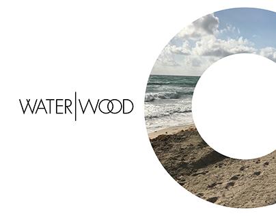 water wood brand identity