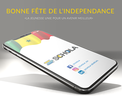 Independence DAY, SENEGAL. Application #SCHOLA