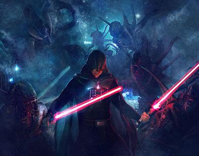 2014 - Darth Morgul VS Aliens