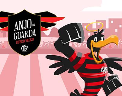 Flamengo - Anjo da guarda (Ilustração e motion)