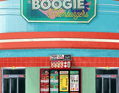 Boogie :: Hamburgers :: art project