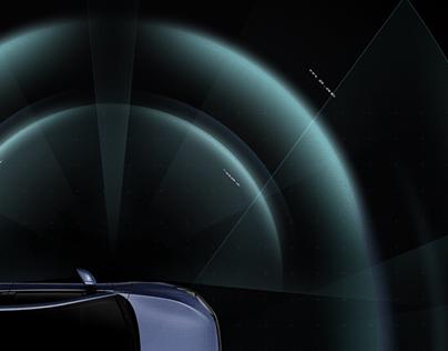 xiaopeng Xpilot3.5 Sensor Motion Grphic