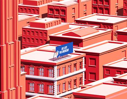 City illustrations Vo. 1
