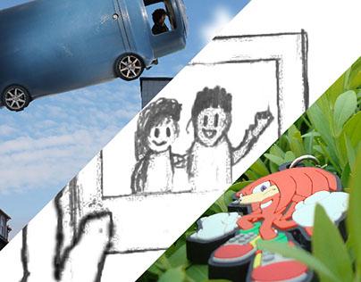 Projetos Escolares - Edição de Vídeo e Imagem
