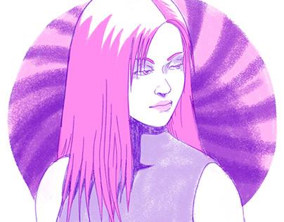 Riso Print Illustrations