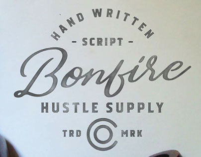 BONFIRE - FREE FONT