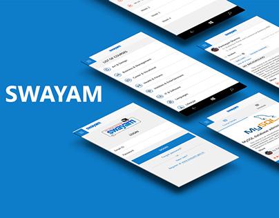 Swayam - Online Learning Platform