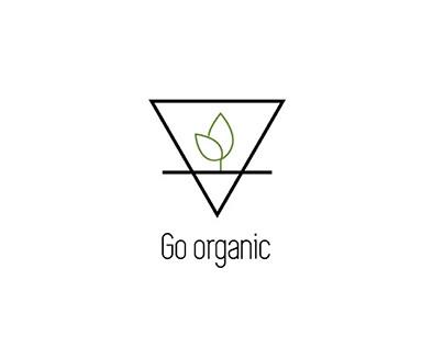 Go organic Poster Design