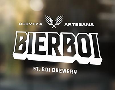 Logo Design St. Boi Brewery - Bierboi