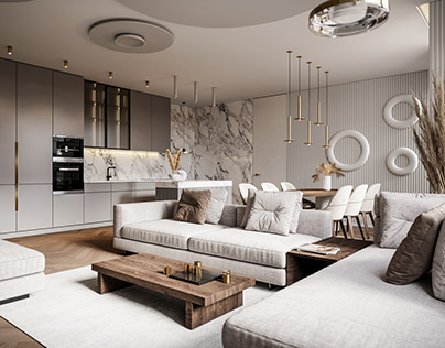 Juozapavicius interior project CGI visualization