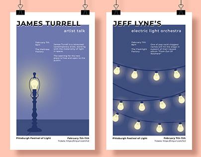 Poster Series For An Imagined Festival Of Light