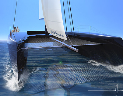 60 ft. Sailing Catamaran