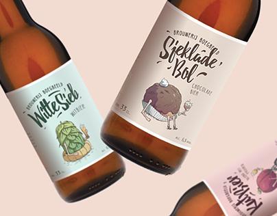 Broegbeeld Brewery | Beer Bottle Design