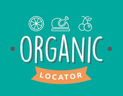 Organic Locator Mobile App