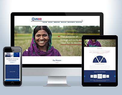 US.AID Responsive Website