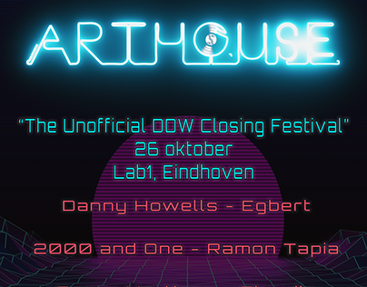 Arthouse festival Artwork, Lab-1 eindhoven, 2019-10-26