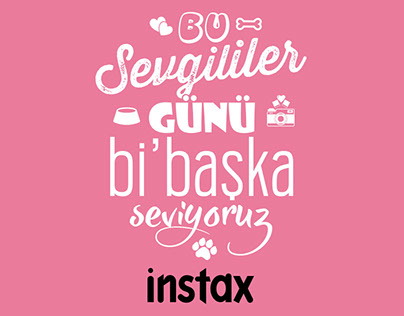 Instax Valentine's Day - Pet Food Donation