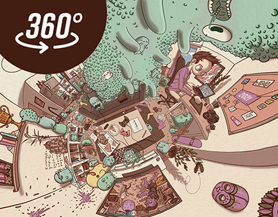 Pet Slimes - 360° illustration