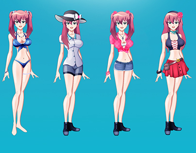 Anime Characters & Illustrations Design