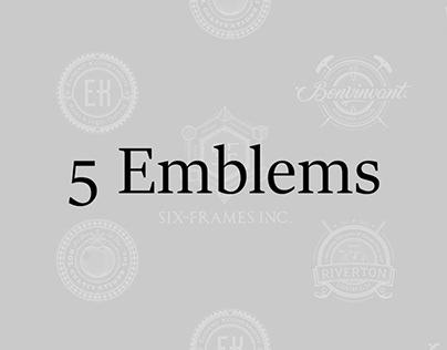5 Emblems