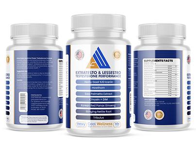ExtraTesto & LessEstro Testesterone Performance