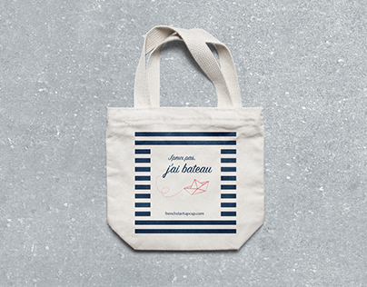 Totebag #FrenchStartupCup