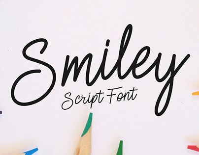 Smiley   Script Font