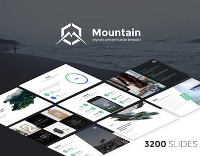 Mountain Keynote Presentation Template