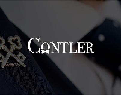 Contler - Branding & Website