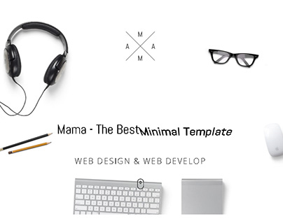 Animated, Minimalistic Responsive WordPress Theme