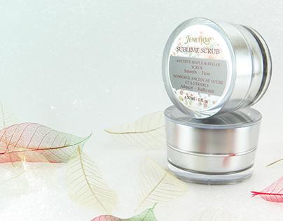 Jenetiqa Luxury Skin Care Product Packaging