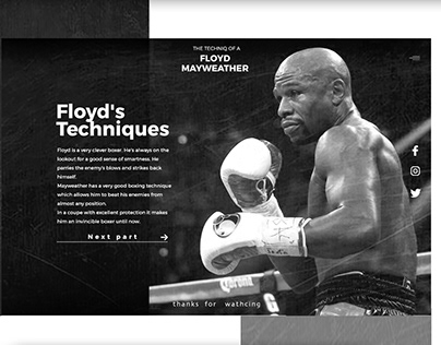 the talent of Floyd Mayweather