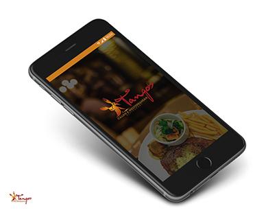 Mobile App UI (Tango's)