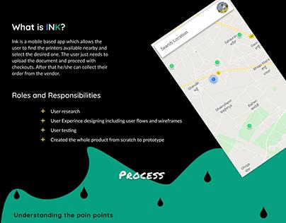 (INK)App for online printing
