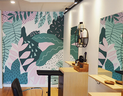 Mural for Sustainery Hair Studio