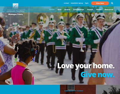 Community Foundation for Muskegon County Website