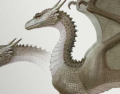 Infographics. Dragon