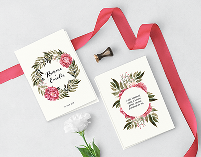 Ramona & Eusebiu Wedding Stationary
