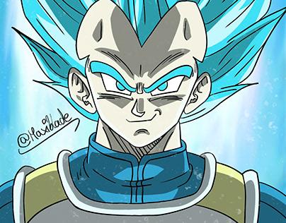 Super Saiyajin Blue Vegeta