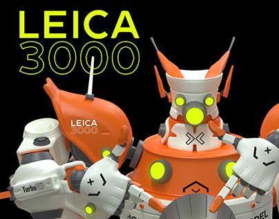 LEICA 3000 - Art toy concept