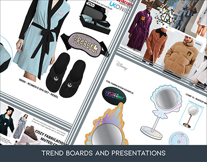 Trend Boards and Presentations
