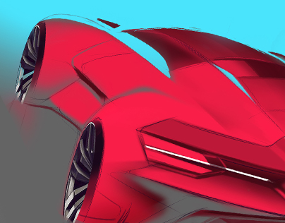 Car Drawing and Sketching Tutorial - How to Draw a Car