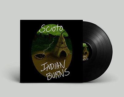 """Scioto – """"Indian Burns"""" Album Art"""