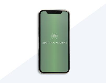 Ajami Foundation App - UI/UX Design