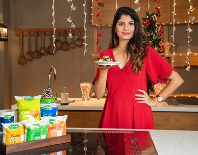 Chef Bhakti Arora with Heritage Products