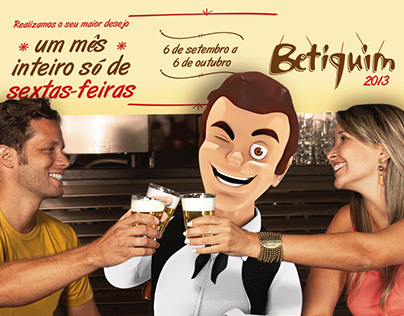 """Campanha Betiquim 2013 """"Hoje é Sexta"""""""