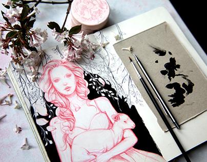Sketchbook part 1...