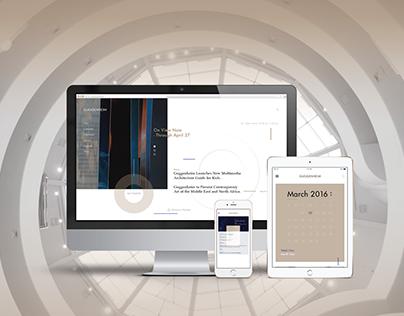 Guggenheim Museum NYC Website Redesign