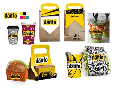 Logo & Brand design of Danfo Bistro & Dives