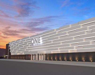 4 Concept Designs of the Shopping Mall facade.